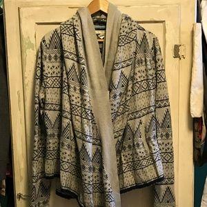 Levi's Cotton Hoody Sweater/Shawl
